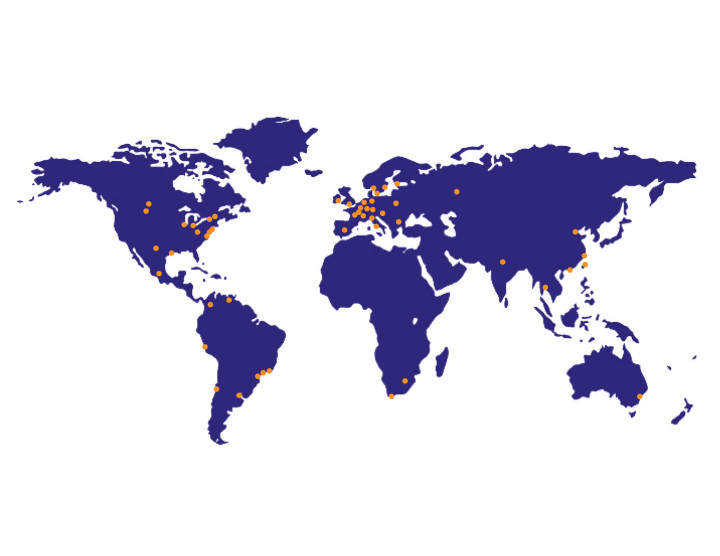 WorldOfficeMap Orange