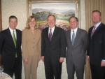 Pearson's Esteemed Panelists Q1 2010 photo