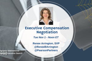 TweetChat: Executive Compensation Negotiation – November 1, 2016