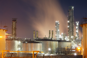 Photo of petrochemical plant oil and gas