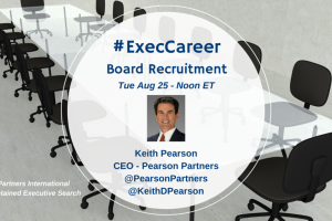 TweetChat: Executive Search & Boards of Directors – August 25, 2015