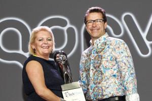 Tech Titans 2015 - Deb giving award to Qorvo Roger Hall 22-12-58__MG_0317_aPerfectFOTO