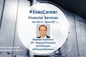 TweetChat: Executive Search & Financial Services – October 6, 2015