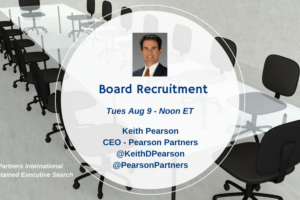 TweetChat: Executive Search & Boards of Directors – August 9, 2016