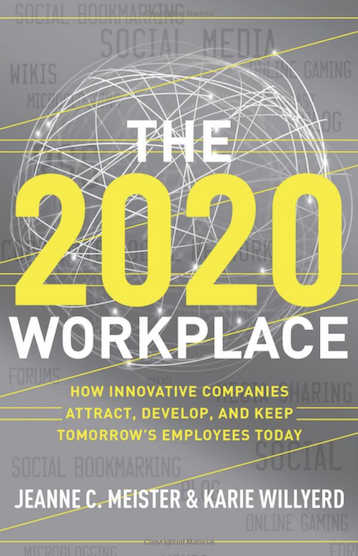 image of book cover the 2020 workplace
