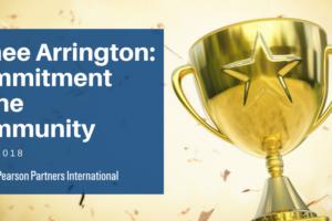 Renee Arrington Receives Prestigious AESC Commitment to the Community Award