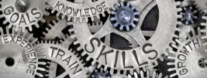 image of gears and management skills