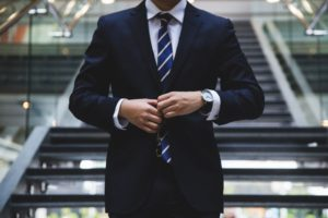 image of executive in suit