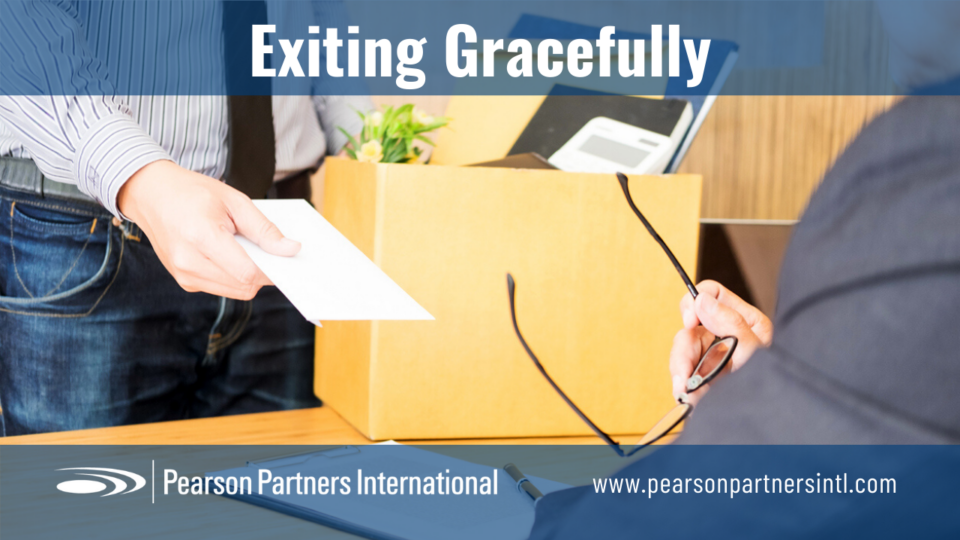 Exiting Gracefully in a Career Transition